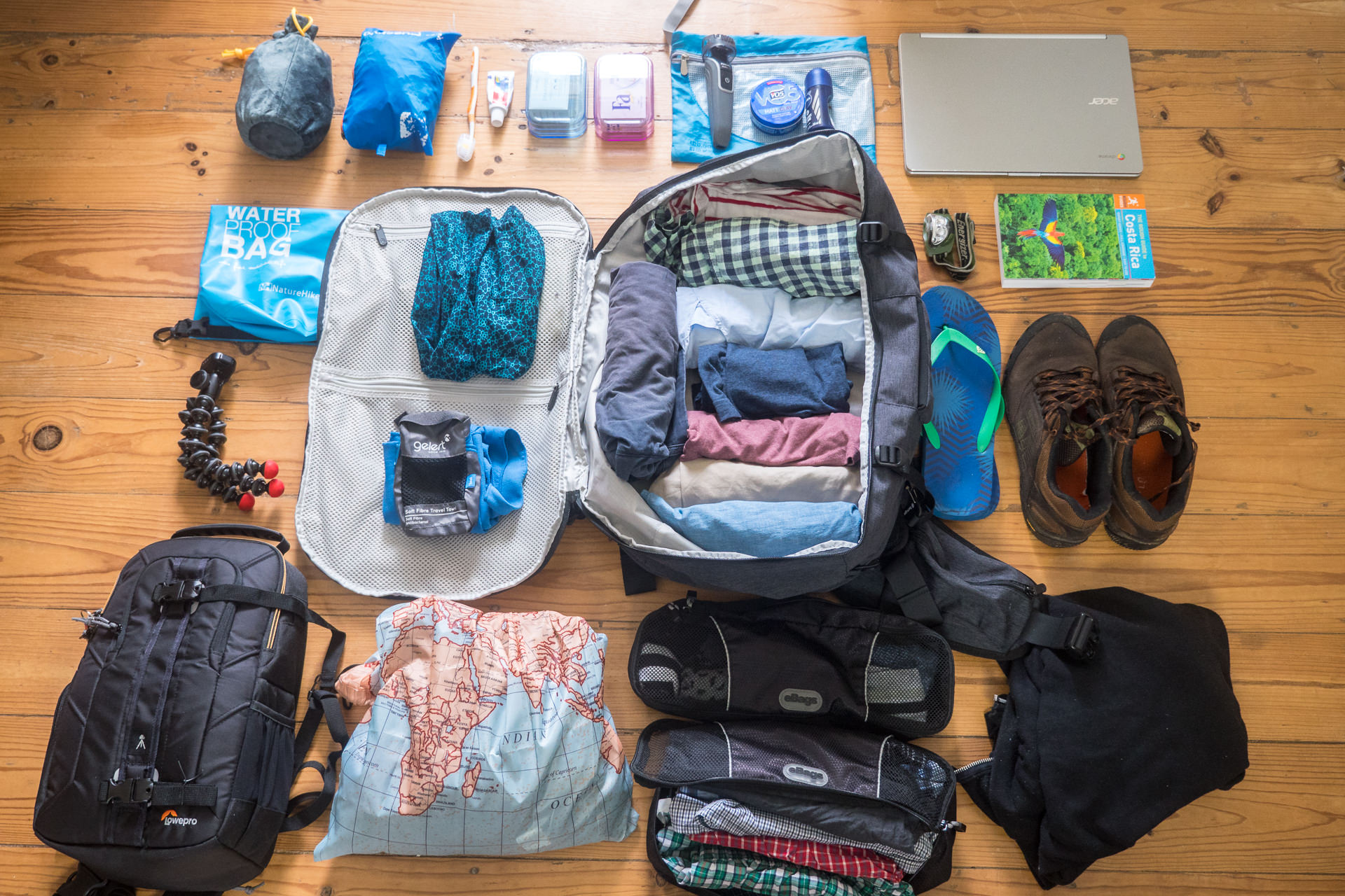 8-Tips for Packing and Traveling Lite
